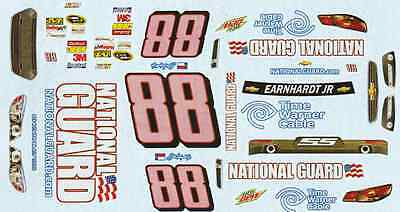 #88 Dale Earnhardt jr Cancer Awareness 2013 1/25th - 1/24th Scale Decals