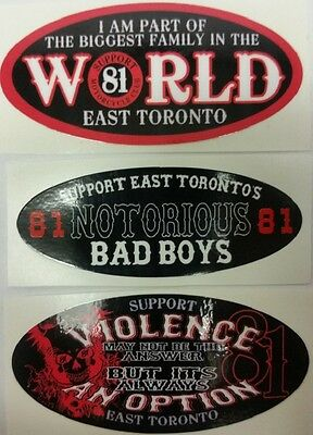 Hells Angels  Official Support 3 Stickers Bundle