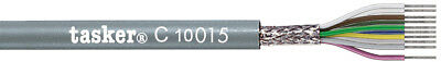 Tasker C10015 Multicore shielded cable 10x0,15 mm² for data transmission 100 m