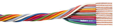Tasker C111 Multicore flexible flat cable 12x0,35 mm² for electronics 100 m