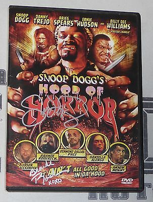 Snoop Dogg & Brande Roderick Signed Hood of Horror DVD PSA/DNA COA Autograph