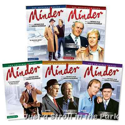 Minder: Original TV Series Complete Seasons 1 2 3 4 5 Box / DVD Set(s) NEW!