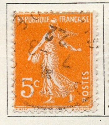 France 1921 Early Issue Fine Used 5c. 092588