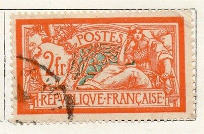 France 1921 Early Issue Fine Used 2F. 092593