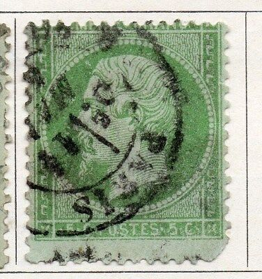 France 1862 Early Issue Fine Used 5c. 092632