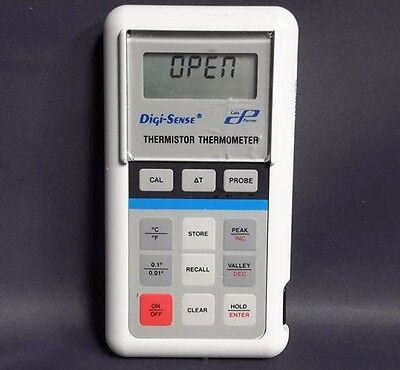 Cole-Parmer Digi-Sense 8525-00 Handheld Thermistor Thermometer