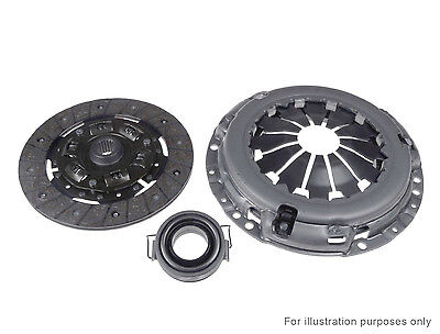 FORD TRANSIT 2.5D Clutch Kit 3 piece w/ Cover, Plate, Release Bearing 94 to 00