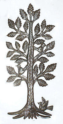 """Metal Tree of Life Art Home Decor Wall Art Wall Hanging Sculpture Sale, Size 24"""""""