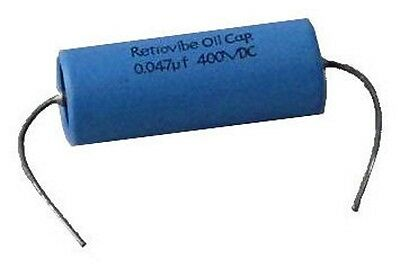 Montreux Retrovibe - Oil Capacitor 0.047mf 400 VDC
