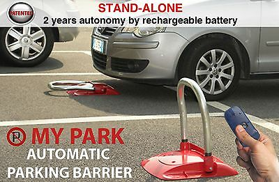 Park Defender bollard of stop battery with radio control