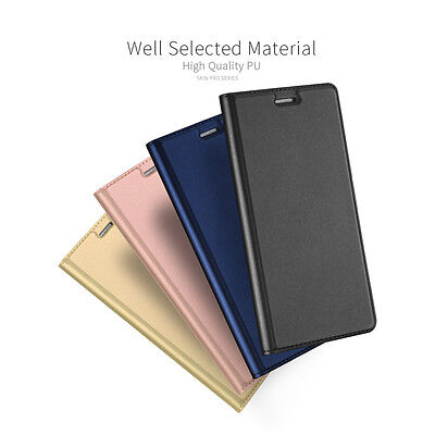 Luxury Magnetic PU Leather Wallet Flip Case Cover For Samsung Note 7 C7 C5