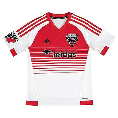 adidas Childrens Kids Football Soccer DC United Away Shirt 2015/16 Jersey