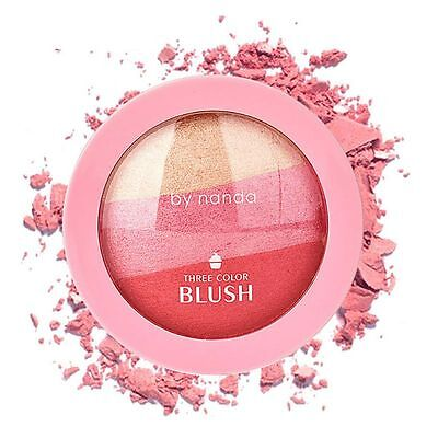 Shimmer Blush Blusher Powder Cosmetic Makeup Palette De colorete Blush Powder