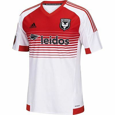 adidas Mens Gents Football Soccer DC United Away Shirt 2015/2016 Jersey