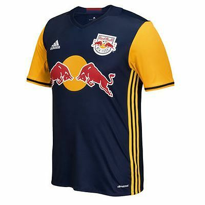 adidas Childrens Kids Football New York Red Bulls Away Shirt 2016 Jersey
