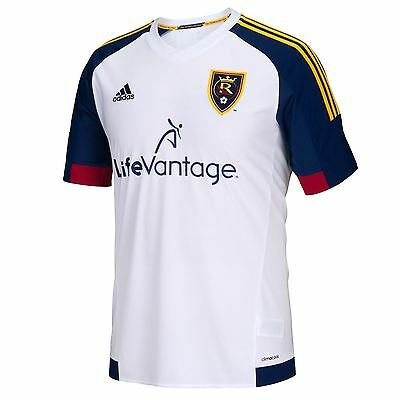 adidas Mens Gents Football Soccer Real Salt Lake Away Shirt 2015/16 Jersey