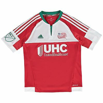 adidas Childrens Kids Football New England Revolution Away Shirt 2015/16