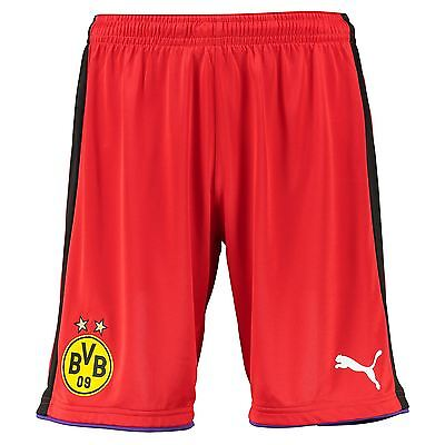 Puma Mens Gents Football Soccer BVB Borussia Dortmund Goalkeeper Shorts 2016-17