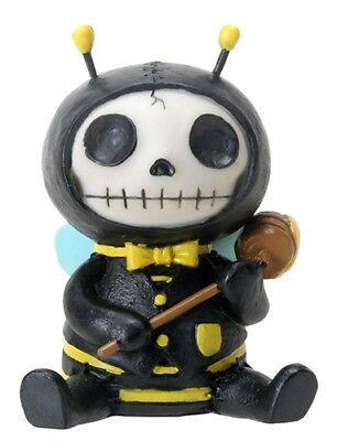 Furrybones Buzz Figurine Bee Cute Gothic Skeleton Skull Different Gift Cool Fun