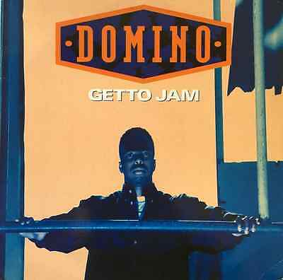 "DOMINO ‎- Getto Jam (12"") (VG/G+)"