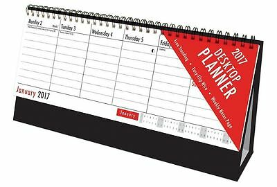 2017   Easy Flip Week To View Desk Top   CALENDER   Stand Up Office Home Planner