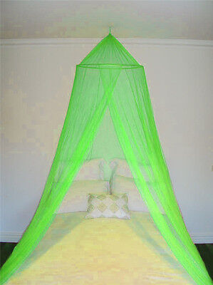 Green Mosquito Fly Canopy Net Bed Netting For Single Double King Size