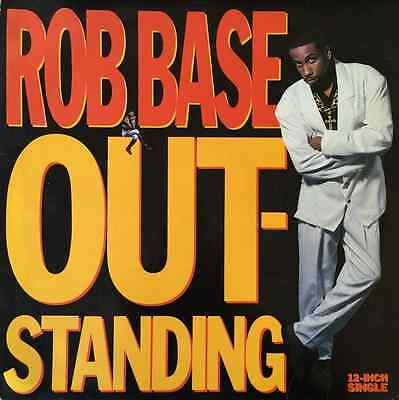 "ROB BASE - Outstanding (12"") (G/VG)"