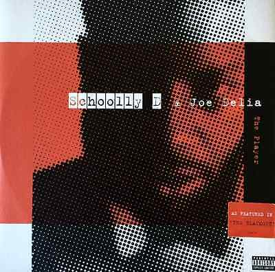 """SCHOOLLY D & JOE DELIA - The Player (Theme From Blackout) (12"""") (Promo) VG+/EX"""