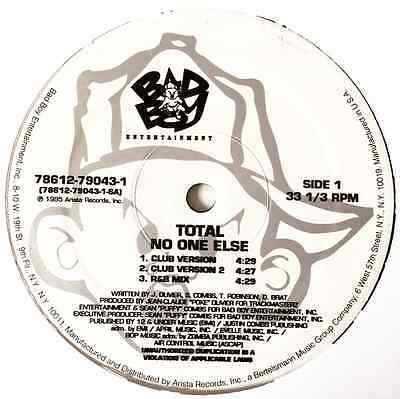 "TOTAL ‎- No One Else (12"") (G-VG/M)"
