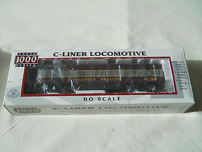 Ho C-Liner Locomotive #500004 Canadian Pacific #4080