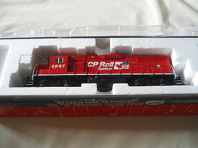 Atlas Ho Locomotive 555006 Gp38 Canadian Pacific 3007