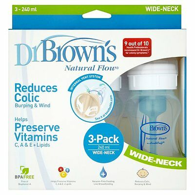 Dr Brown's Natural Flow 240Ml Triple Pack