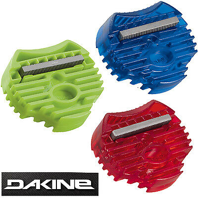 DAKINE - Snowboard or Ski Mini Edge Tuner / Edge File in Green, Red or Blue