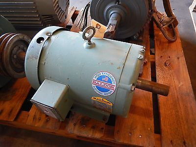 Baldor M3710T Electric Motor 7 1/2 TE HP 208-230/460 Volts 213T Frame 3 Phase