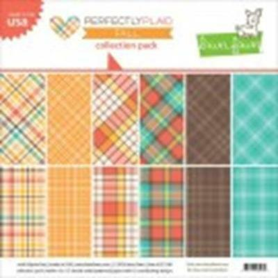 Lawn Fawn - Perfectly Plaid Fall - Petite Paper Pack 6x6