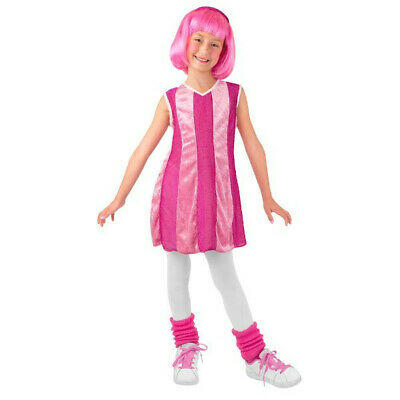 Toddler Lazy Town Stephanie Costume