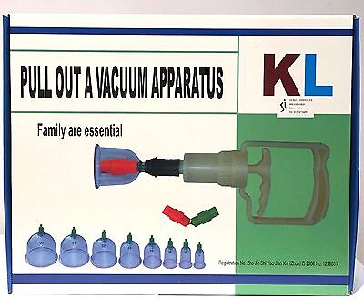 Acupuncture Kit - 24 Cups And Pump Vacuum Cupping Set Hijama - Cheapest On Ebay!