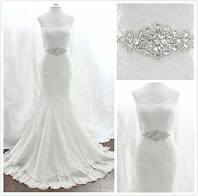 Trlyc Wedding Dress Belt Bridal Belt Sash Belt Pearls Belt Rhinestone Belt Cr...