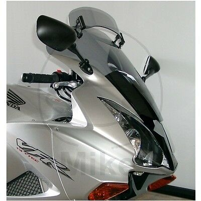 For Honda VFR 800 2005 MRA Vario Adjustable Touring Screen Smoke Grey