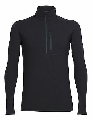 Icebreaker Descender Mens Long Sleeve Half Zip 2017