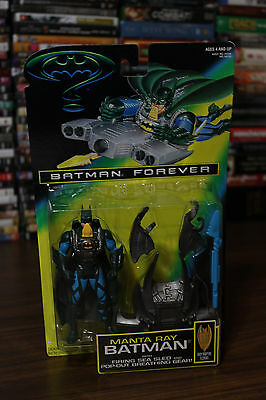 Kenner Batman Forever Manta Ray with Firing Sea Sled Action Figure