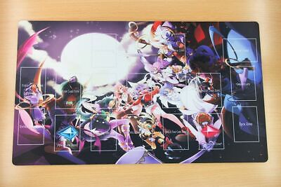 F505# Free Mat Bag Custom Playmat Yugioh TCG Mat Serena Lunalight Mat Layout