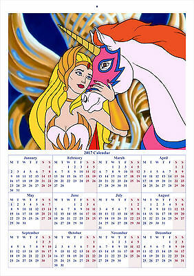 She-Ra: Princess Of Power - 2017 A4 CALENDAR **BUY ANY 1 AND GET 1 FREE OFFER**