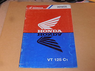 Honda Vt125 C1 Genuine Shop addendum Manual With Wiring vactor wiring diagrams plymouth voyager wiring diagram kawasaki vactor wiring diagram at gsmx.co