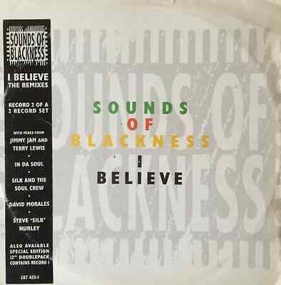 """SOUNDS OF BLACKNESS - I Believe (The Remixes) (12"""") (VG/G)"""
