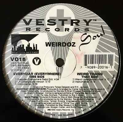 "WEIRDOZ - Everyday (Everywhere) (12"") (G/M)"