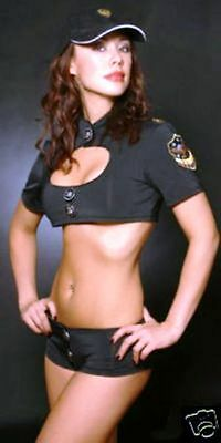 Sexy Police Cop Adult Womens Outfit Costume Fancy Dress