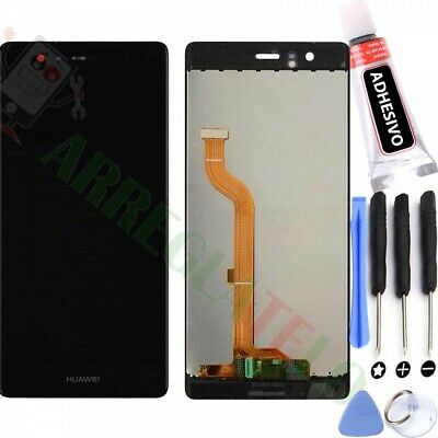 Pantalla Para Huawei Ascend P9 Negra Tactil + Lcd Display Black