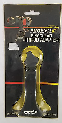 Brand New Phoenix Binocular Tripod Adapter #09-819 New Sealed C2