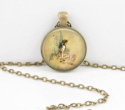 Fairy Pendant Necklace Inspiration Jewelry or Key Ring